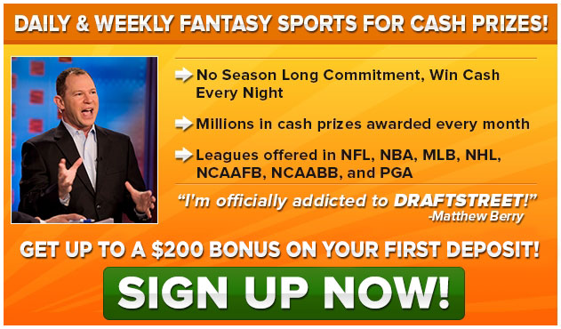 Signup to DraftStreet